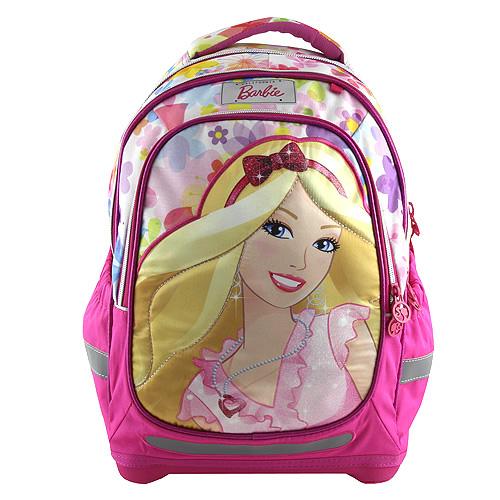 Školní batoh Barbie barevný s motivem panenky Barbie