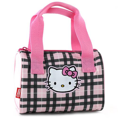 Kabelka Hello Kitty růžovo-černá