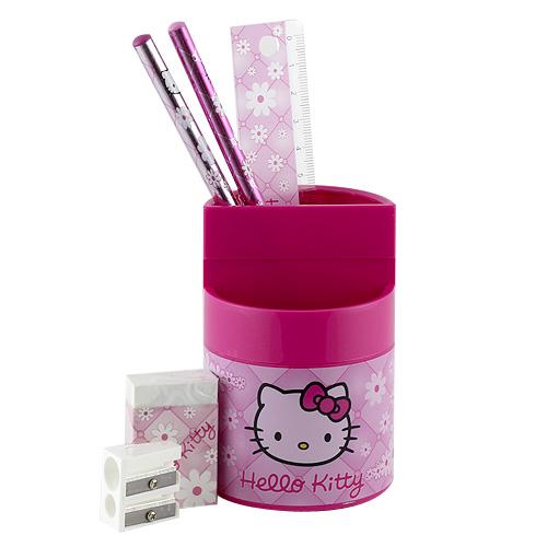 Stojánek s náplní Hello Kitty