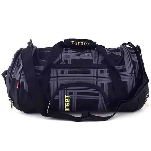Cestovní taška Target černo-šedá