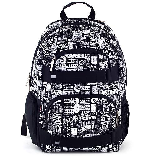 Sportovní batoh Target černo-bílý