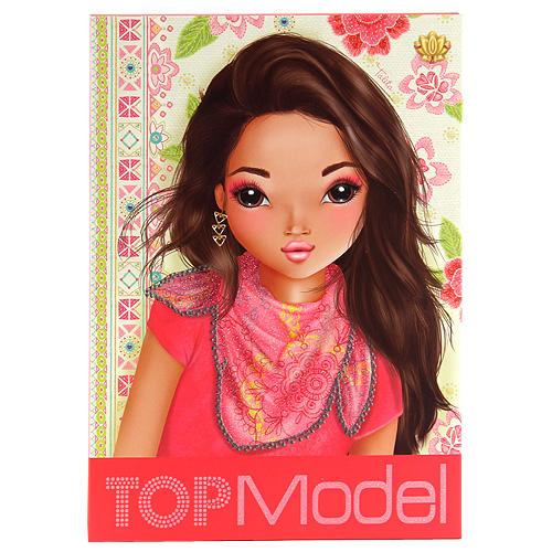 Dopisní souprava a samolepky Top Model se samolepkami, Talita