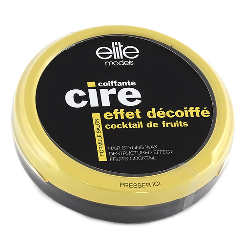 Vosk na vlasy Elite Models pro rozcuchaný efekt, ovocný, 40g