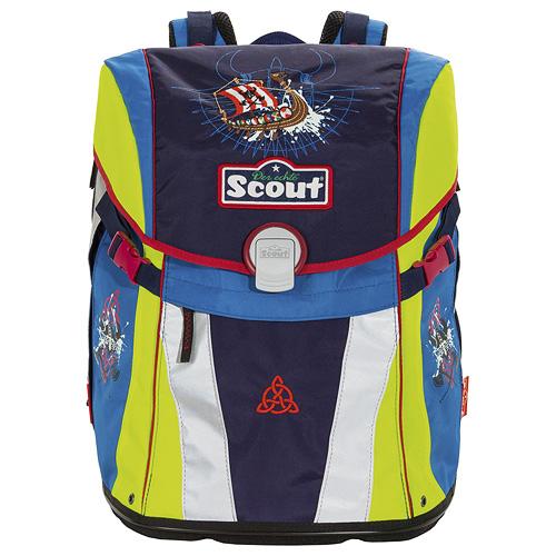 Školní batoh Scout motiv Viking, Emotion, doprava zdarma