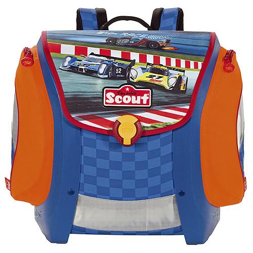 Školní aktovka Scout motiv závod, Basic, doprava zdarma