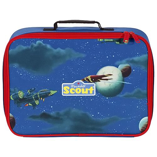 Dětský kufřík Scout motiv raketa, Basic