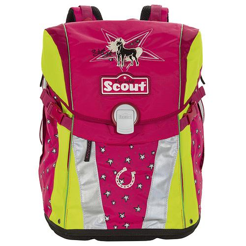 Školní batoh Scout motiv stříbrná hvězda, Emotion, doprava zdarma