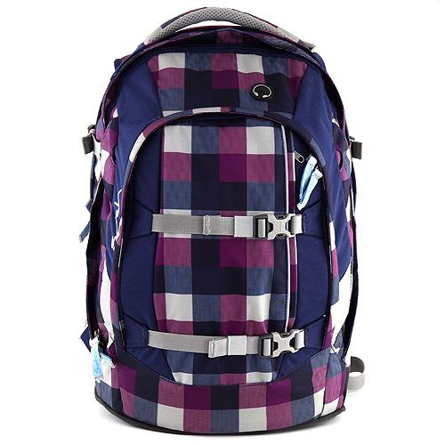 Školní batoh Satch fialový, 11-16 let, doprava zdarma