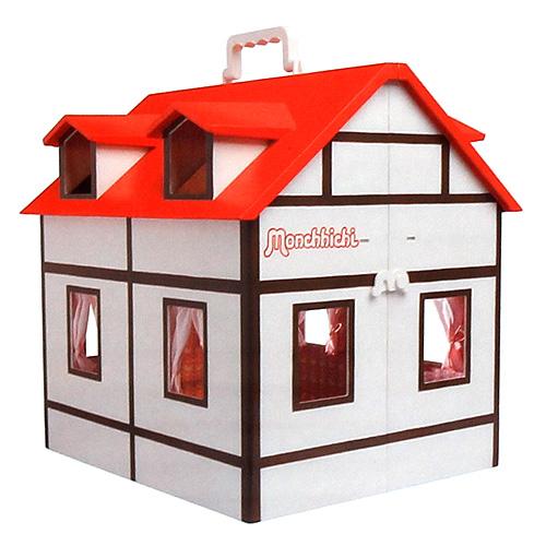 Domeček pro Monchhichi plastový
