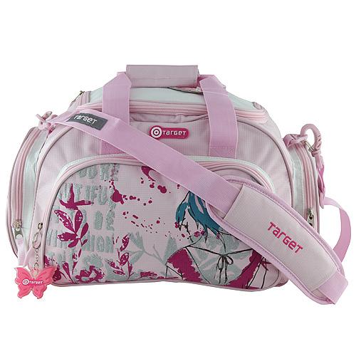 Cestovní taška Target motiv Fly, růžová