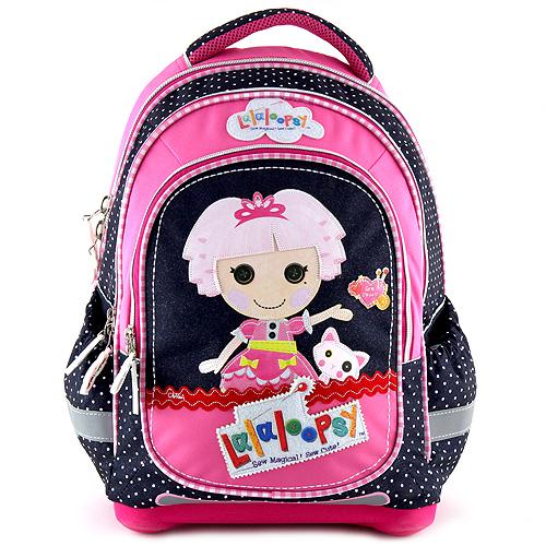 Školní batoh Lalaloopsy motiv panenky s kočičkou