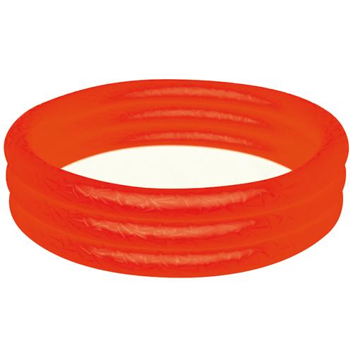 Nafukovací bazén Bestway červený, průměr 122cm