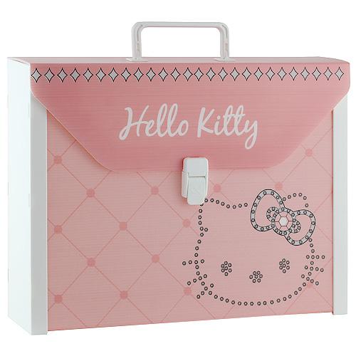 Kufřík Hello Kitty růžový