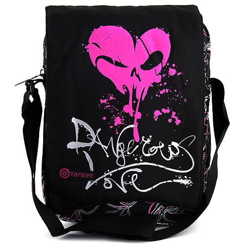 Taška na tablet Target motiv růžové srdce