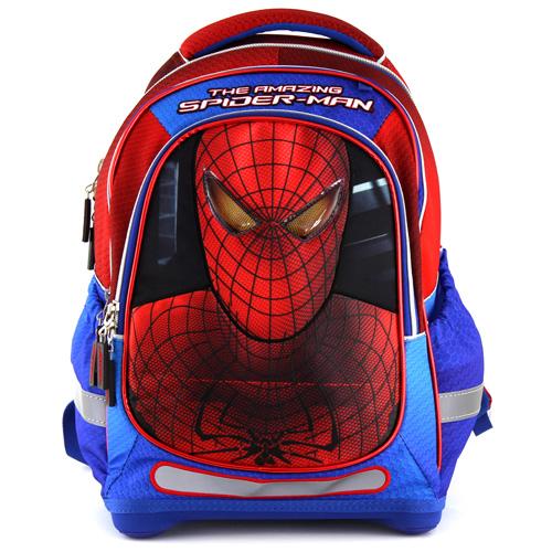 Školní batoh Spiderman modrý, motiv Spidermana