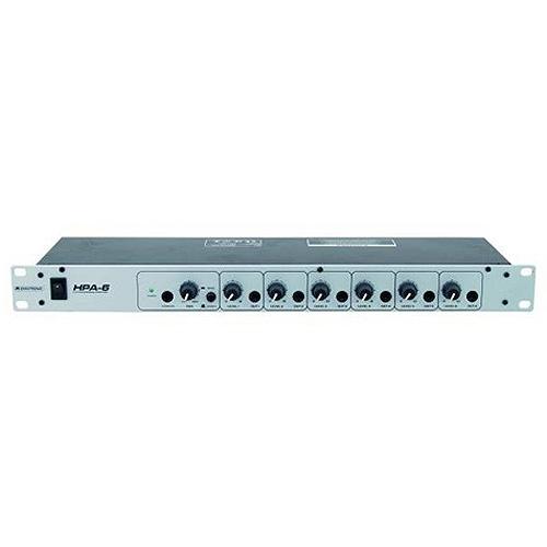 Sluchátkový zesilovač Omnitronic Omnitronic HPA-6