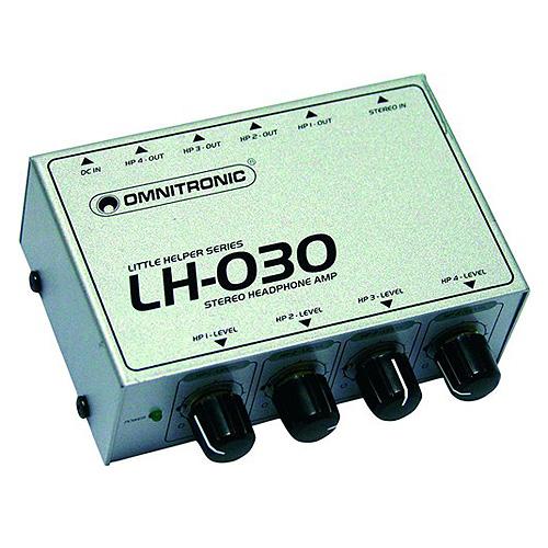Sluchátkový zesilovač Omnitronic Omnitronic LH-030