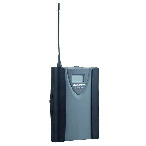 Mikrofonní vysílač Omnitronic Omnitronic TM-1000 MK2, bezdrátový mikrofonní vysílač