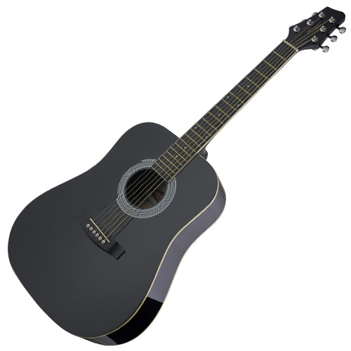 Akustická kytara Stagg levoruká