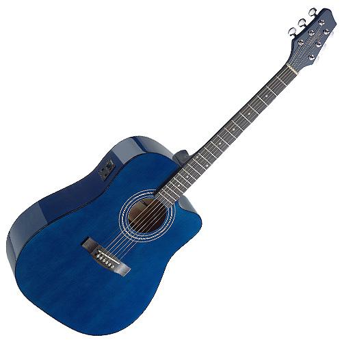 Elektro-akustická kytara Stagg typ Dreadnought, doprava zdarma