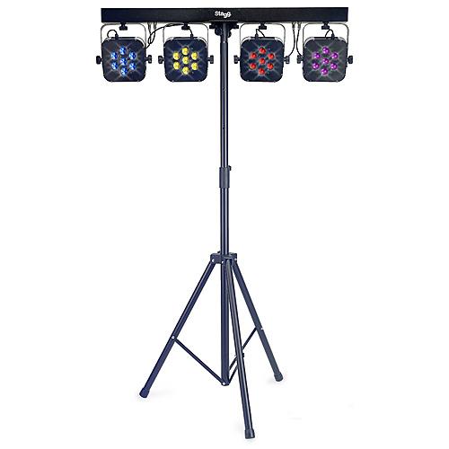 Světelná rampa Stagg 4 reflektory, LED, doprava zdarma