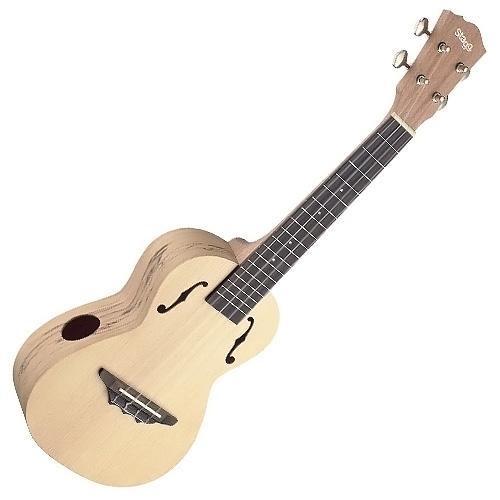 Koncertní ukulele Stagg barva přírodní lesklá