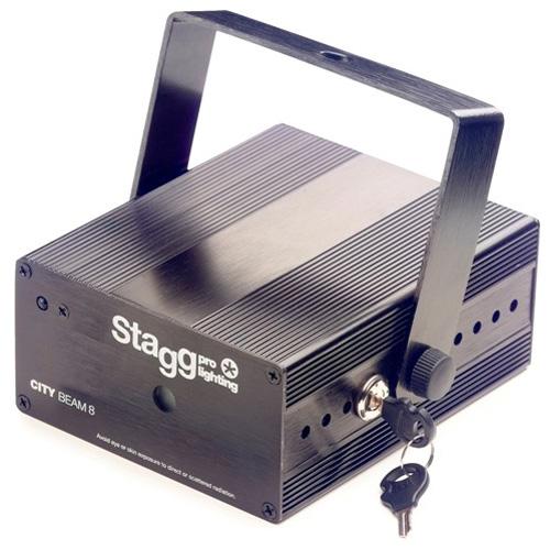 Laser Stagg Stagg Laser CITY 140mW One dimension, černý
