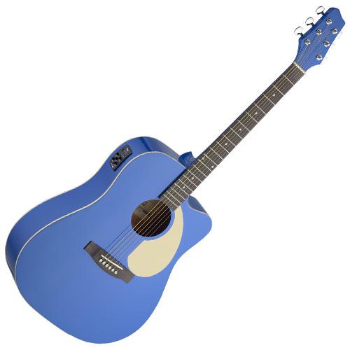 Elektro-akustická kytara Stagg typu Dreadnought, doprava zdarma