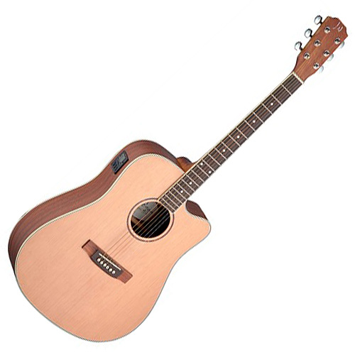 Elektro-akustická kytara James Neligan Typ Dreadnought