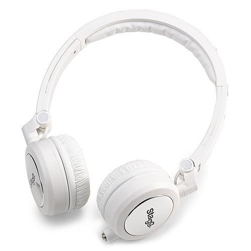 Stereo sluchátka Stagg bílá