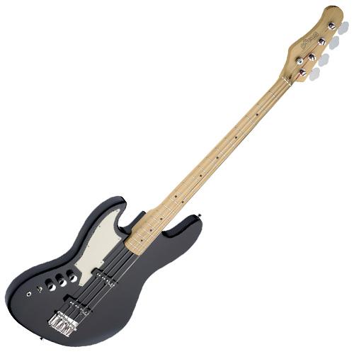 Baskytara Stagg typ Jazzbass, levoruká