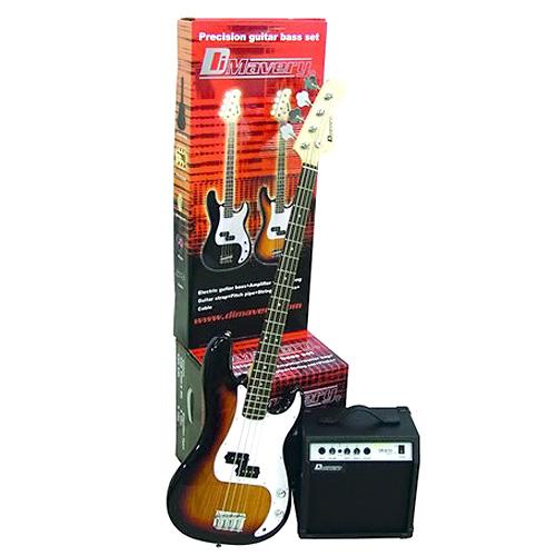 Kytarová sada Dimavery Dimavery Bass SET SB, sada basové kytary a příslušenství