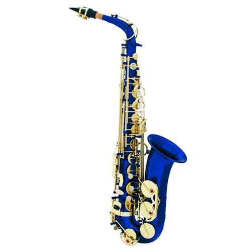 Saxofon Dimavery Dimavery SP-30 Es alt saxofon, modrý, doprava zdarma