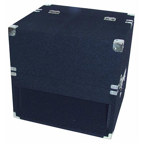Transportní kufr Roadinger Case Combi Mixer CD černý koberec, 3/4HE