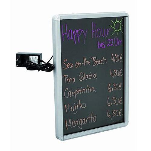 Reklamní tabule Europalms LED světelná tabule A1, hliníková, doprava zdarma