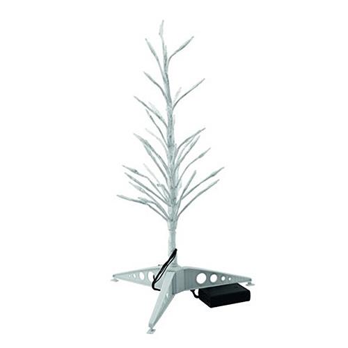 Vánoční stromek Europalms výška 80 cm, s LED diodami, bílý