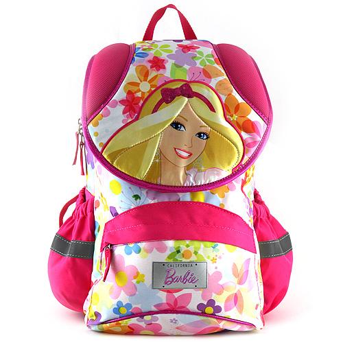 Školní batoh Barbie motiv barevných květů