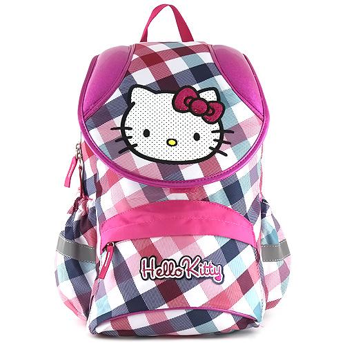 Školní batoh Hello Kitty barevné kostky