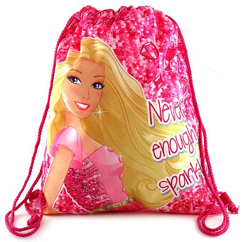 Sportovní vak Barbie růžový