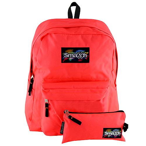 Studentský batoh Smash neonový růžový