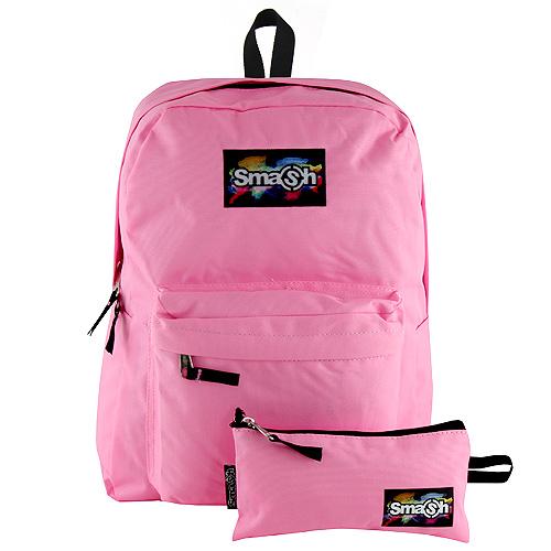 Studentský batoh Smash světle růžový