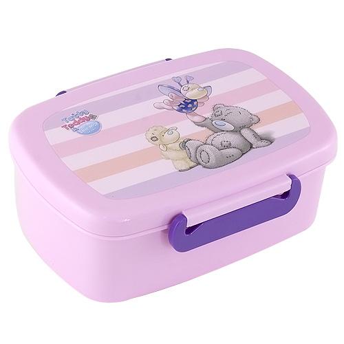 Svačinový box Me to You plastový, růžový