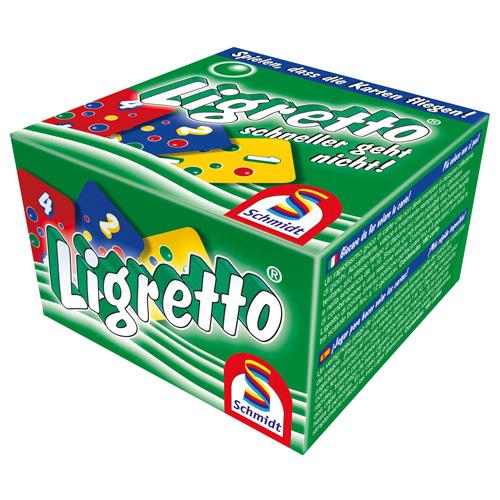 Karetní hra Ligretto Schmidt 160 karet, barva zelená