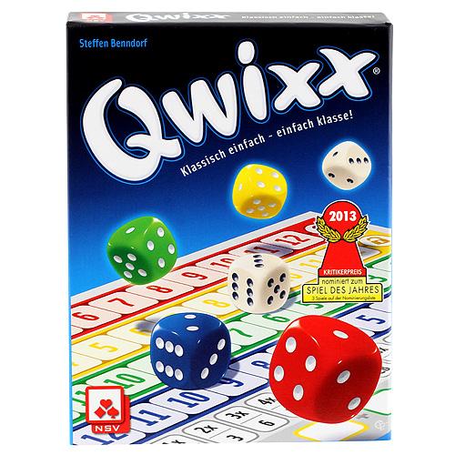 Stolní hra Qwixx NSV pro 2-5 hráčů