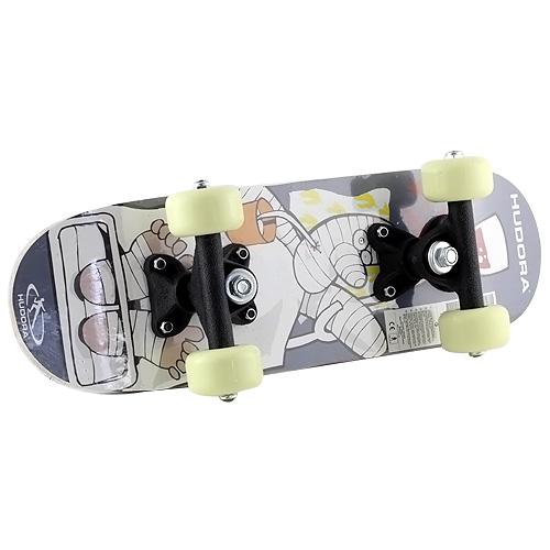 Mini skateboard Hudora motiv mumie, 42,5 x 12,5 cm