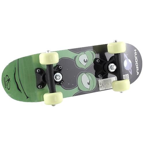 Mini skateboard Hudora motiv příšerky, 42,5 x 12,5 cm