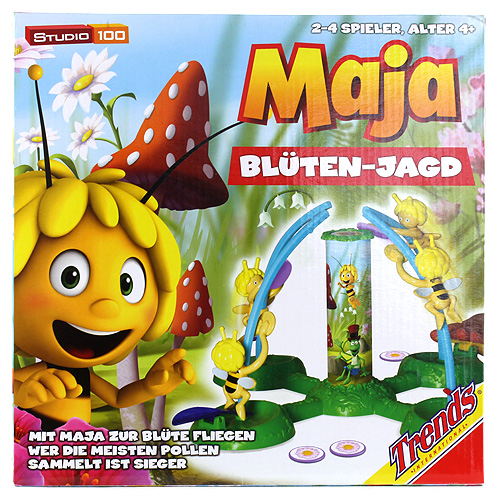 Hra pro děti Včelka Mája pro 2-4 hráče