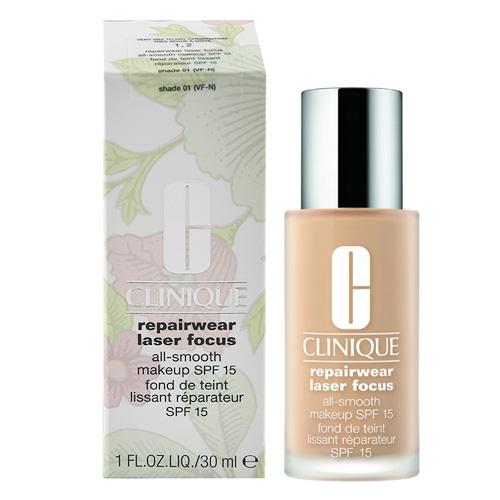 Make-up Clinique Odstín Shade 01, 30 ml - vyhlazující make-up Repairwear Lase