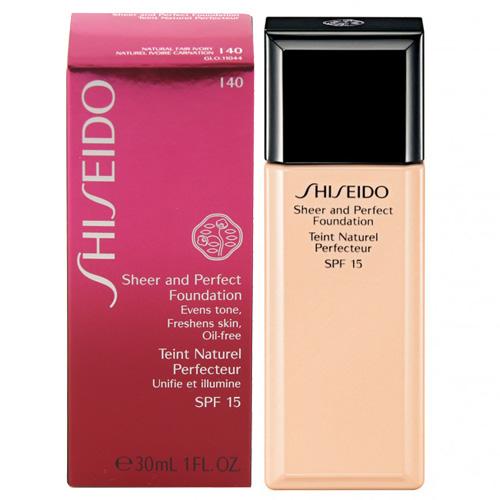 Tekutý make-up Shiseido Odstín I40 Natural Fair Ivory, 30 ml - Sheer and Perfect Fou