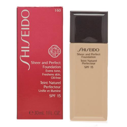 Make-up Shiseido Tekutý make-up Sheer and Perfect Foundation SPF 15 30 ml Ods